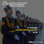 14-Yanvar «Vatan himoyachilari» kuni